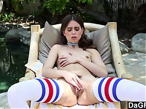 Dagfs jaw-dropping Riley Reid toying With Her