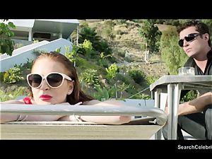 James Deen and Lindsay Lohan get warm on web cam