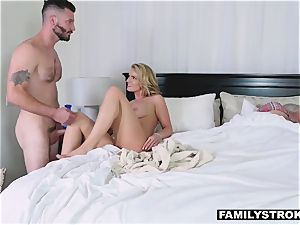 hookup starved mom takes her step sonny for a quickie