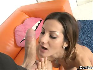 sexy Alice Romain loves hard-core ride