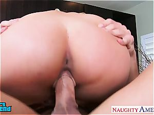 fabulous light-haired Aaliyah love gets pummeled