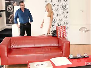 revealed casting - Katrin Tequila takes rod at casting