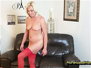 cram Up the Strippers gaping pussy with Ms Paris Rose