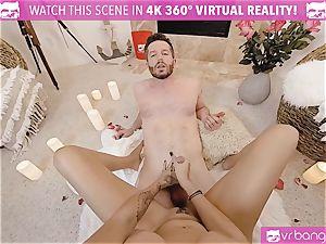 VR pornography - Thanksgiving Dinner becomes super-naughty smashing
