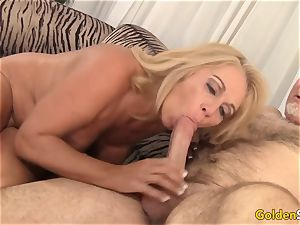 spectacular and mature Crystal Taylor hardcore