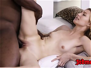 Alexa grace Getting banged on bed