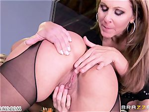 Office relationships. My new big-titted secretary is too super-sexy