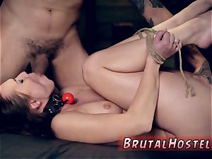 fabulous brunette nubile striptease and hot ash-blonde first-ever anal invasion finest buddies Aidra Fox and
