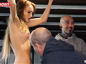 LETSDOEIT - Kira Gets tough torture at bondage & discipline party