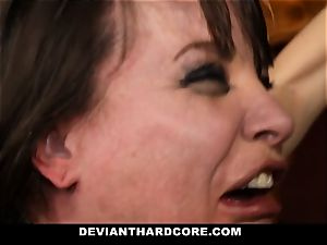 DeviantHardcore-Hot cougar groped and cuffed To Cross