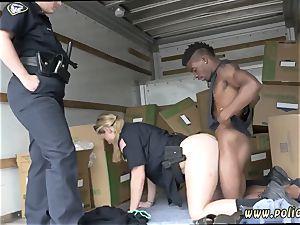 milf cam feet black suspect taken on a rough ride