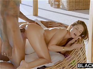 BLACKED tiny fad Is A scorching wife On Vacation