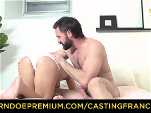 audition FRANCAIS - fledgling sweetie drilled and cum decorated