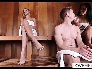 LoveHerFeet - Jessa Rhodes steaming And super-fucking-hot foot bang-out