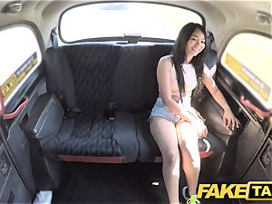 faux taxi cool Thai dame with pierced honeypot lips