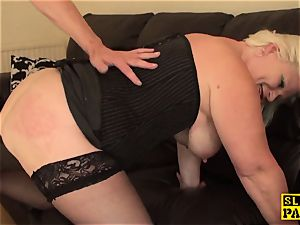 plump british marionette predominated with roughsex