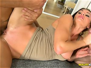 Kitana Lure getting her cooter and arse poked