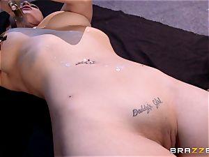 Lezley Zen and Katrina Jade fetish girly-girl poke