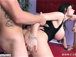 inebriated milf Eva Karera with massive funbags indulges on the party