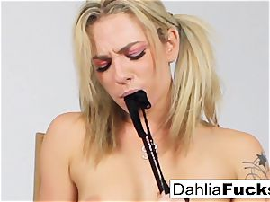 horny school chick solo getting off