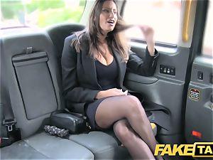 fake taxi torrid huge-boobed stunner gets fat cum shot