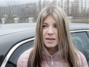 broads ABROAD - Russian teenage Gina Gerson boned abroad