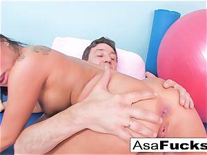 Asa's hardcore ass fucking opening up
