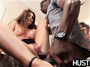 mind-blowing India Summers rockets after chomping down bbc