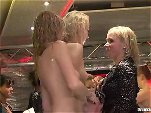 Bibi Fox, Tarra white and Carla Cox crazy and super-naughty