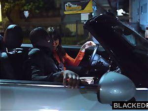 BLACKEDRAW Riley Reid penetrates big black cock With Her greatest acquaintance