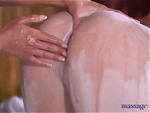 massage rooms mind-blowing black-haired Amirah Adara