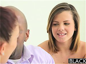 BLACKED Keisha Grey and Mischa Brooks Share black rod