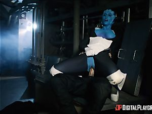 Space pornography parody with sizzling alien Rachel Starr