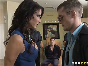 Criminals wifey Jessica Jaymes smashed by a super-fucking-hot cop