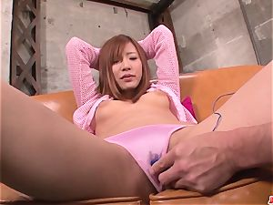audition for porno finishes with serious pleasures for Yuika