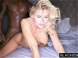 stunner Jessa Rhodes can't stand against to the thick dark-hued dong