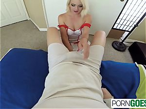 Marilyn get screw her edible cock-squeezing poon by a yam-sized beef whistle
