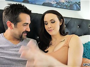 Spizoo - witness Chanel Preston fellating and plowing