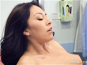 Kara faux medical twat check up
