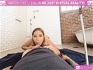 VR pornography - Blair Getting pulverized rock-hard by the Plumber