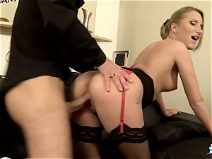 LA COCHONNE - molten ass fucking with wild French blond