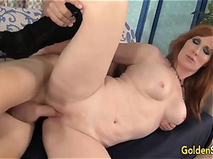 Mature red-haired Freya Fantasia Is porked