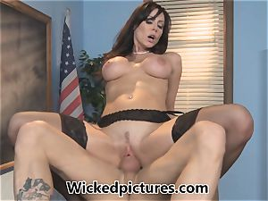 sleepy college girl is screwed by lecturer Kendra passion
