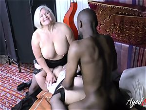 AgedLovE Lacey Starr multiracial threeway